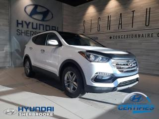 Used 2018 Hyundai Santa Fe LUXURY 2.4 AWD GPS CUIR TOIT PANO CAMERA for sale in Sherbrooke, QC