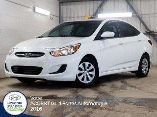 Used 2016 Hyundai Accent GL 4 portes AUTOMATIQUE for sale in Val-David, QC