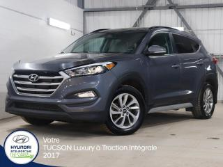 Used 2017 Hyundai Tucson Luxury à Traction INTÉGRALE for sale in Val-David, QC