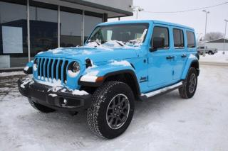 New 2021 Jeep Wrangler Sahara Unlimited for sale in Swift Current, SK