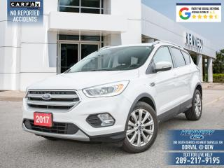 Used 2017 Ford Escape Titanium for sale in Oakville, ON