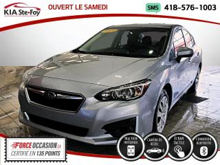 Used 2019 Subaru Impreza CONVENIENCE* 2.0L* CAMERA DE RECUL* JAMA for sale in Québec, QC