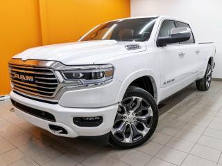 Used 2021 RAM 1500 LONGHORN CREW 4X4 *ETORQUE* TOIT *NAV 12PO* PROMO for sale in Mirabel, QC