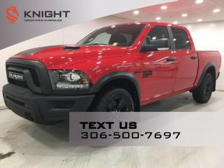 New 2021 RAM 1500 Classic Warlock Crew Cab for sale in Regina, SK