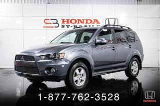 Used 2011 Mitsubishi Outlander LS + 4WD + A/C + V6 + BAS KILOS + WOW! for sale in St-Basile-le-Grand, QC