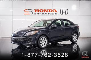 Used 2010 Mazda MAZDA3 GX + AUTO + A/C + BAS KILOS + WOW! for sale in St-Basile-le-Grand, QC