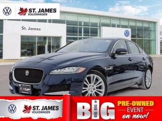 Used 2018 Jaguar XF Prestige, Clean Carfax, Backup Camera, Heated Seats for sale in Winnipeg, MB