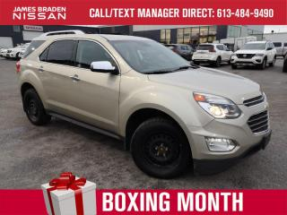 Used 2016 Chevrolet Equinox LTZ for sale in Kingston, ON