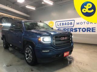 Used 2017 GMC Sierra 1500 All-Terrain 4WD Crew Cab  5.3L V8 * Projection * Heated Powered Memory Leather Front Seats * Rear Bumper Steps * Side Steps * 20 Alloy Rims * for sale in Cambridge, ON
