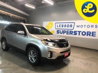 Used 2015 Kia Sorento Heated Seats * 17 inch Alloy Rims * Hood Bug Deflector * Roof Rails * Cruise Control * Steering Wheel Controls * Hands Free Calling * Park Assist *  A for sale in Cambridge, ON