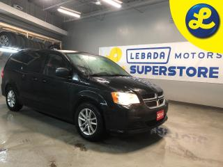 Used 2014 Dodge Grand Caravan SXT PLUS STOW N GO * 2nd Row Overhead DVD * Power 8-Way Driver Seat * ParkView Rear Back-up Camera * Hands Free Uconnect 430 CD/DVD/MP3/HDD * Air Cond for sale in Cambridge, ON