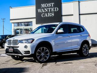Used 2017 BMW X3 xDRIVE|F+R SENSORS|HEATED STEERING WHEEL|19