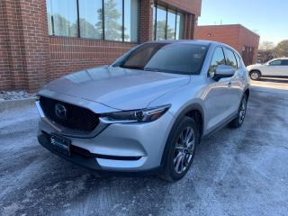 Used 2019 Mazda CX-5 Signature Turbo, HUD, Navigation, Adaptive Cruise, Leather, Bose for sale in King, ON