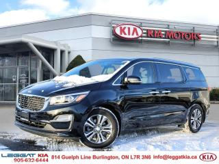 Used 2020 Kia Sedona SX | POWER DOORS | REAR CAMERA | HEATED SEATS | POWER LIFTGATE | for sale in Burlington, ON