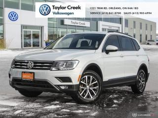 Used 2018 Volkswagen Tiguan Comfortline 2.0T 8sp at w/Tip 4MOTION (2) for sale in Orleans, ON