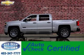 Used 2018 Chevrolet Silverado 1500 4x4 Crew Cab High Country Leather Roof Nav for sale in Red Deer, AB
