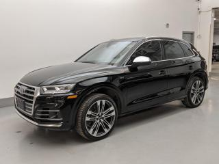 Used 2018 Audi SQ5 SQ5/TECHNIK/DRIVER ASSISTANCE/HUD/DYNAMIC PKG1! for sale in Toronto, ON