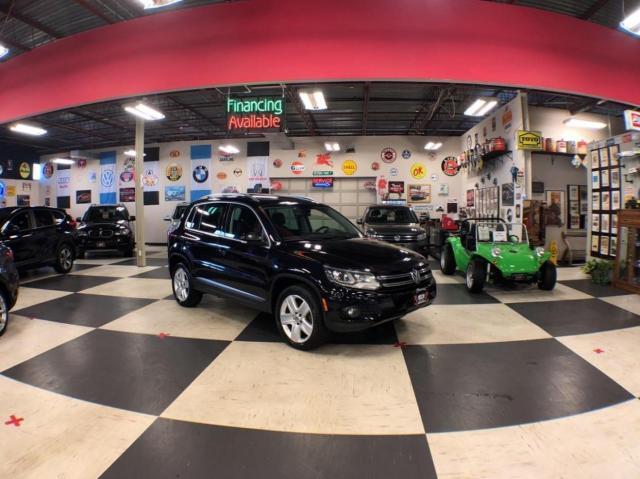 2016 Volkswagen Tiguan 2.0L AWD AUTO LEATHER H/SEATS BACKUP CAM 83K