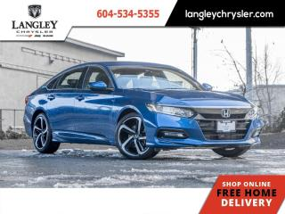 Used 2018 Honda Accord Sedan Sport  Accident Free/ Leather/ Sunroof/ One Owner for sale in Surrey, BC