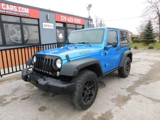 Used 2015 Jeep Wrangler SPORT|TWO TOPS|4X4| for sale in St. Thomas, ON