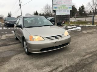 Used 2003 Honda Civic DX-G for sale in Komoka, ON