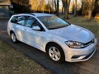 Used 2019 Volkswagen Golf SportWagen Comfortline With only 29500 km $81.00 weekly for sale in Perth, ON