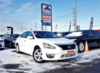 Used 2014 Nissan Altima No Accidents | One owner |2.5 SV |NAV|Certified for sale in Brampton, ON