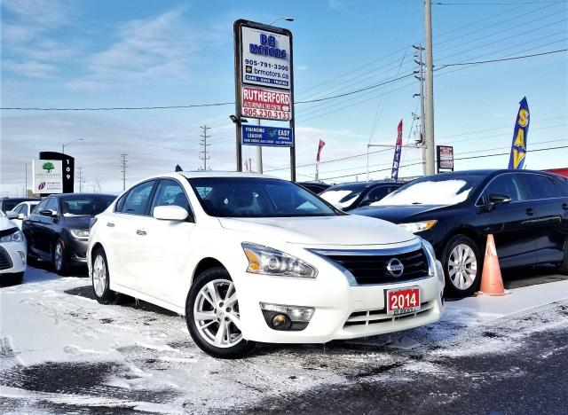 2014 Nissan Altima No Accidents | One owner |2.5 SV |NAV|Certified
