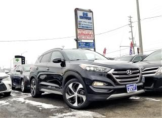 Used 2017 Hyundai Tucson No Accidents|AWD|1.6L Limited| Loaded| Certified for sale in Brampton, ON