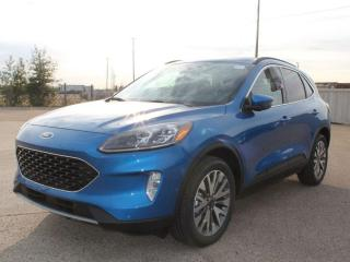 New 2020 Ford Escape Titanium Hybrid 400A | AWD | 2.5L HYBRID | Heated Leather Seats | Heated Steering Wheel | NAV | Remote Vehicle Start | Reverse Camera System for sale in Edmonton, AB