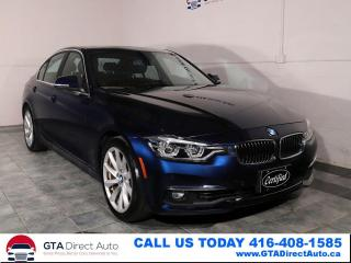 Used 2016 BMW 3 Series 328i xDrive AWD Nav Sunroof Camera Xenon Certified for sale in Toronto, ON