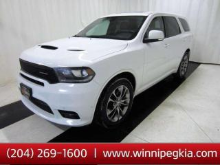 Used 2019 Dodge Durango R/T *Accident Free!* for sale in Winnipeg, MB