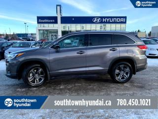 Used 2017 Toyota Highlander LIMITED/7 PASS/AWD/NAV/BACKUP CAMERA for sale in Edmonton, AB