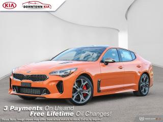 New 2021 Kia Stinger GT LIMITED-NEON ORANGE for sale in Vancouver, BC