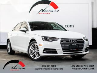 Used 2017 Audi A4 Komfort/Heated Leather/Push Button for sale in Vaughan, ON