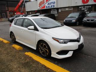 Used 2018 Toyota Corolla iM ~ LDW ~ REAR CAM ~ BLUETOOTH ~ ACCIDENT FREE for sale in Toronto, ON