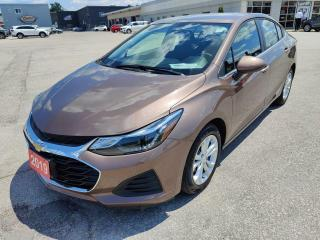 Used 2019 Chevrolet Cruze LT for sale in Owen Sound, ON
