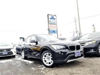 Used 2013 BMW X1 NoAccidents|One owner|AWD|28i|NAV|Hseats|certified for sale in Brampton, ON