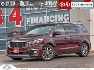Used 2017 Kia Sedona SXL+ | NAVI | COOLED SEAT | 360 CAMERA for sale in St Catharines, ON