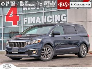 Used 2015 Kia Sedona SXL | LEATHER | BLINDSPOT ALERT | COOLED SEAT for sale in St Catharines, ON
