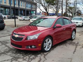 Used 2014 Chevrolet Cruze LTZ for sale in Brampton, ON