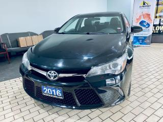 Used 2016 Toyota Camry SE I ALLOY I BACK UP CAMERA I NO ACCIDENT for sale in Brampton, ON