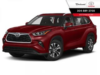 New 2021 Toyota Highlander XLE WITH PREMIUM PAINT for sale in Winnipeg, MB