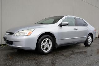 Used 2003 Honda Accord LX Sedan Touring Edition *Mechanic Special* for sale in Vancouver, BC