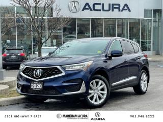 Used 2020 Acura RDX SH-AWD Tech at for sale in Markham, ON