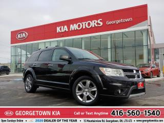 Used 2012 Dodge Journey R/T | DVD | 7 PASS | LTHR | ROOF | V6 | CHROME for sale in Georgetown, ON