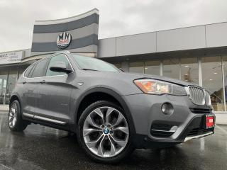 Used 2017 BMW X3 xDrive28i AWD LEATHER SUNROOF NAVI REAR CAMERA for sale in Langley, BC