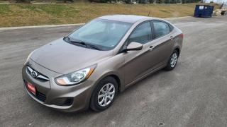Used 2012 Hyundai Accent 4dr Sdn for sale in Mississauga, ON