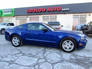 Used 2014 Ford Mustang V6 Coupe Automatic No Accident Alloys Certified for sale in Milton, ON