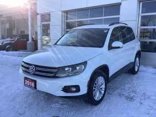 Used 2016 Volkswagen Tiguan 4MOTION 4dr Auto Special Edition for sale in North Bay, ON